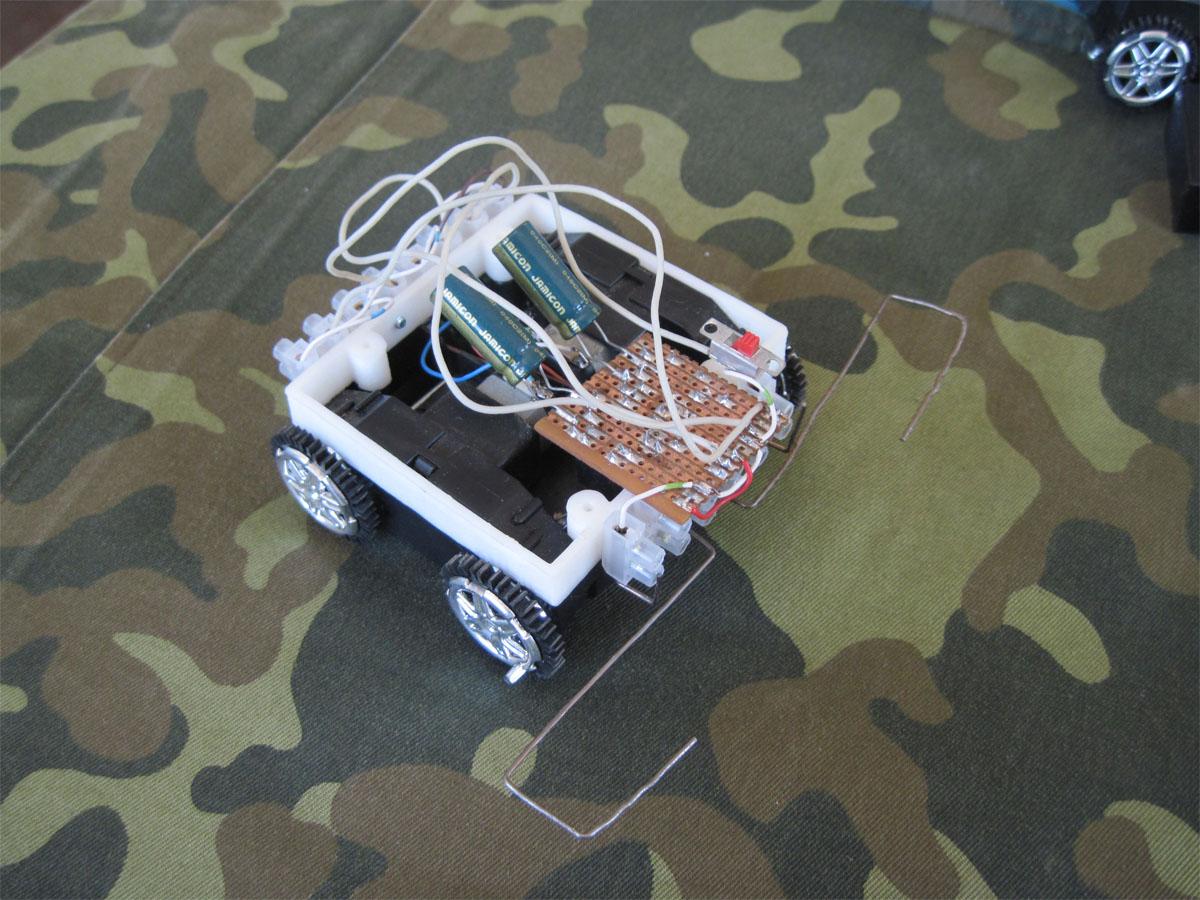 Как сделать в домашних условиях машины на пульте управления